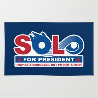 Solo for President Rug
