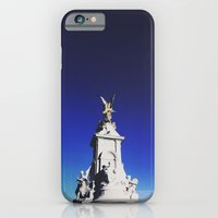 iPhone & iPod Case featuring Victoria Memorial, London by norakathleen