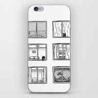 Every Window Is A Story iPhone & iPod Skin