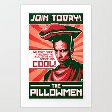 The Pillowmen Art Print