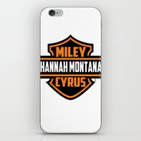 Miley Cyrus Hannah Montana  iPhone & iPod Skin