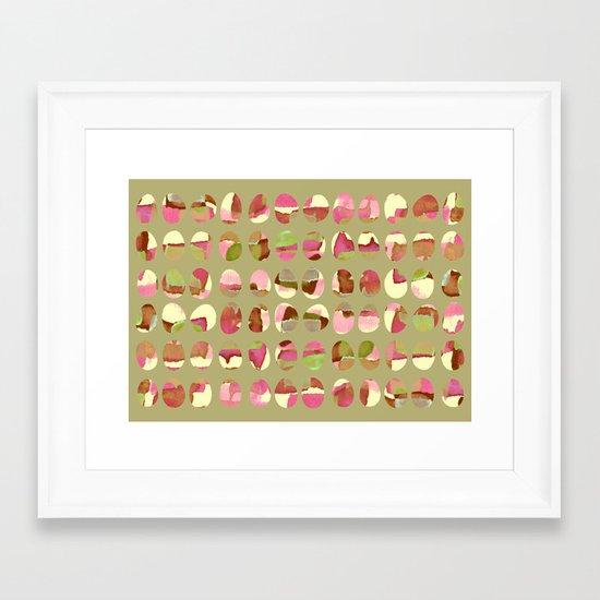 pattern 05 Framed Art Print