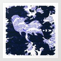 FISH PARADISE V7 Art Print