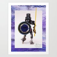Art Print featuring After Arrived by David Nuh Omar