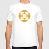 Intersection Mens Fitted Tee White SMALL