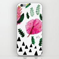 Tropical Flowers iPhone & iPod Skin