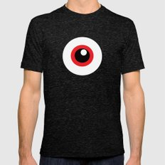EYE SEE Mens Fitted Tee Tri-Black SMALL