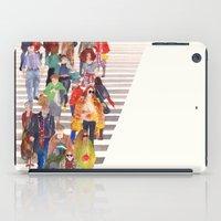 Zebra crossing iPad Case