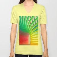 Rainbow Spring 5 Unisex V-Neck