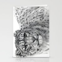 Panthera Uncia G003 Stationery Cards