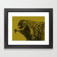 eagle eagle Framed Art Print