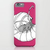 iPhone & iPod Case featuring Woodlouse by MadamSalami