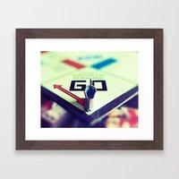 Boot  Framed Art Print