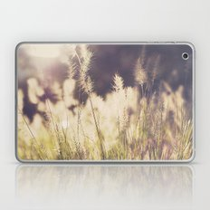 Golden Grass Laptop & iPad Skin