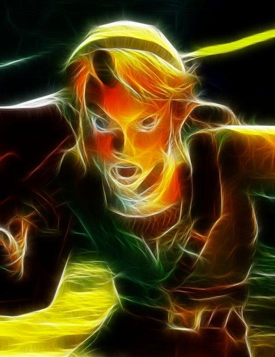 The Legend of Zelda Magical Link. Canvas Print