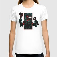 Hardware Womens Fitted Tee White SMALL