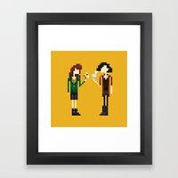 Freakin' Friends III Framed Art Print