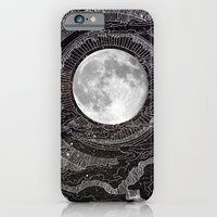 stars iPhone & iPod Cases featuring Moon Glow by brenda erickson