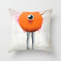 Eye Spy Throw Pillow