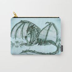 Material Girl ~ Sea Mist ~ Dragon  Carry-All Pouch