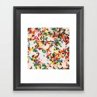 Sprinkles  Framed Art Print