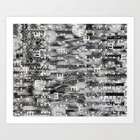 Atomic Bokeh (P/D3 Glitc… Art Print