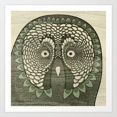 Owlustrations 3 Art Print