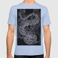A Dragon from your Subconscious Mind Mens Fitted Tee Athletic Blue SMALL