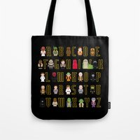 St_ar Wars Alphabet 3 Tote Bag
