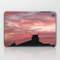 Winter sunset over London iPad Case