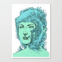 transformation portrait part 2 Canvas Print