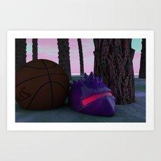 Game Over Art Print