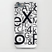 iPhone & iPod Case featuring HELVETICA by Typography Photography™