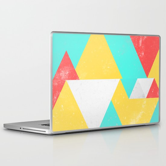 Triangle Pattern I Laptop & iPad Skin