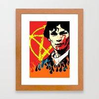 TRUE CRIME: Richard Ramirez Framed Art Print