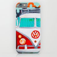 vw iPhone & iPod Cases featuring VW by Drica Lobo