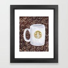 Coffee Time II Framed Art Print