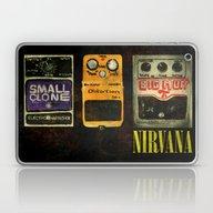 Guitar Pedals Bedroom Ro… Laptop & iPad Skin