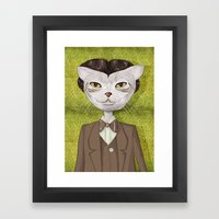 Mr. Jones Framed Art Print
