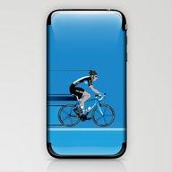 Bradley Wiggins Team Sky iPhone & iPod Skin