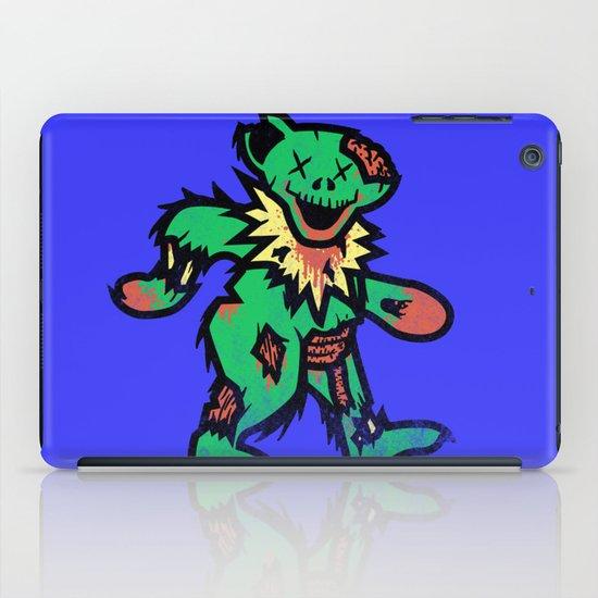 Grateful undead bear iPad Case