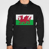 National Flag Of Wales -… Hoody