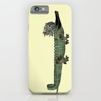 iPhone & iPod Case featuring Croc by Madame Potpourri