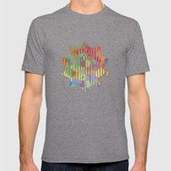 Is A Puzzlement Mens Fitted Tee Tri-Grey SMALL