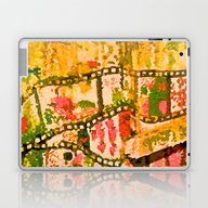 Flowers And Chains Laptop & iPad Skin