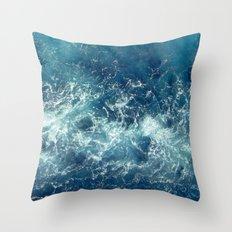 Sea splashes Throw Pillow