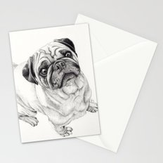 Seymour the Pug Stationery Cards