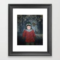 Посмотри! Йет… Framed Art Print