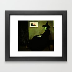 Wizzler's Mother     Wicked Witch Framed Art Print