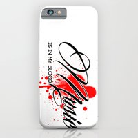 iPhone & iPod Case featuring Music is in my Blood by DB & Co.